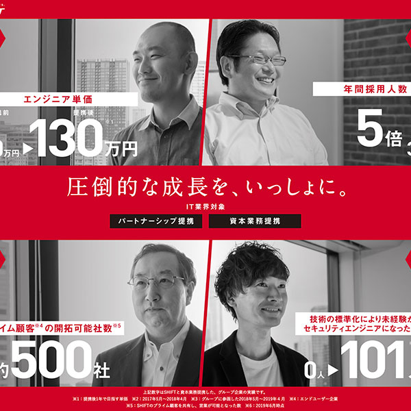 SHIFT 資本業務紹介サイト